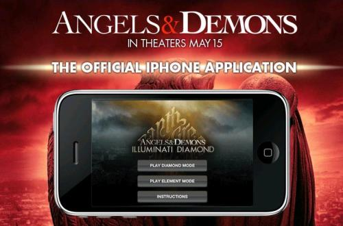Angels & Demons iPhone game